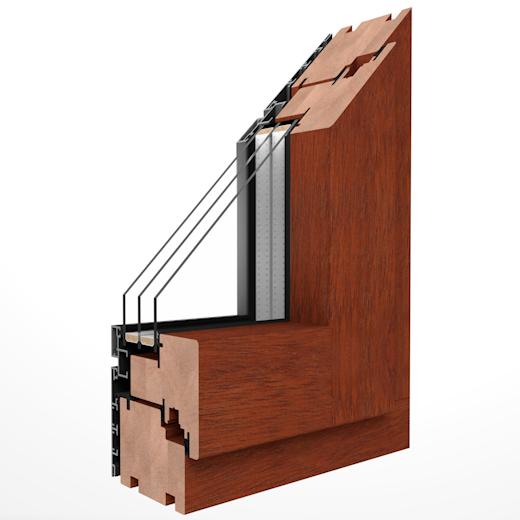 Holz-Aluminium Fenster DUOLINE