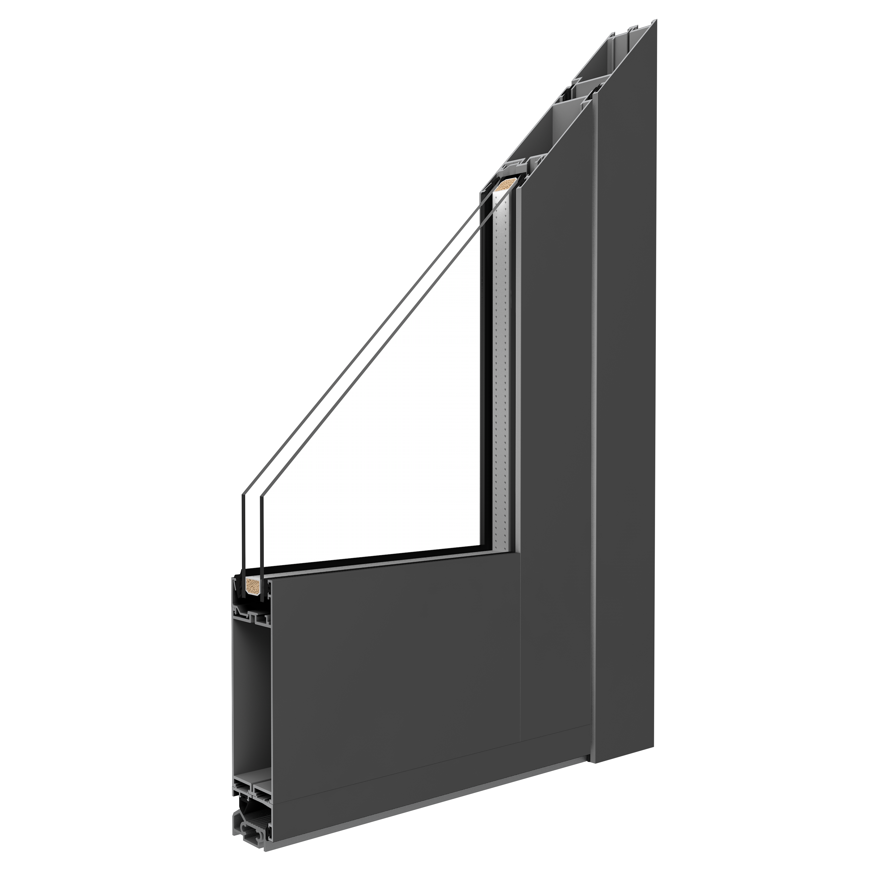 Drutex S.A. - Aluminiumtüren MB-86SI
