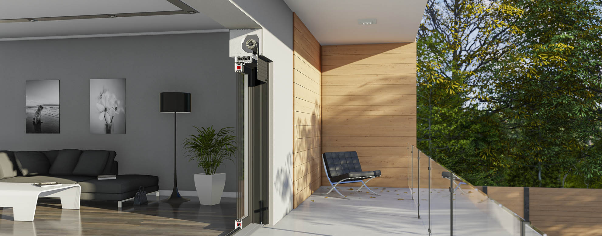 Drutex launches a new roller shutters system